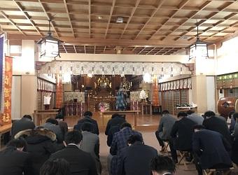 会社・団体様向け正月新春祈願祭